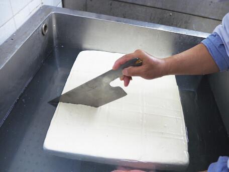 安くて、おいしく、安心して召し上がって頂けるお豆腐を!!